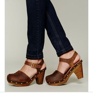 Jeffery Campbell Free People Daubs clog